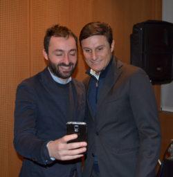 Javier Zanetti e Michele Fusilli, editor Garzanti