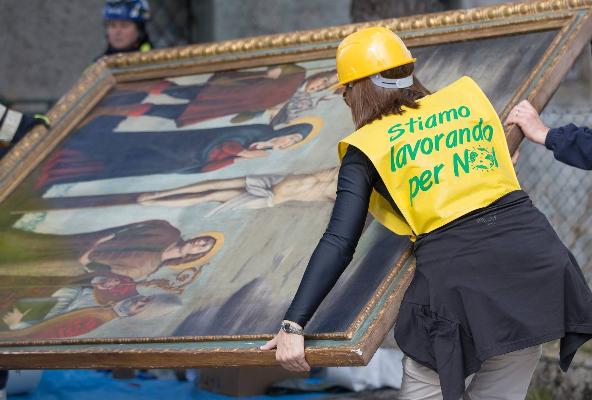 Terremoto, il patrimonio d'arte salvato dalle macerie