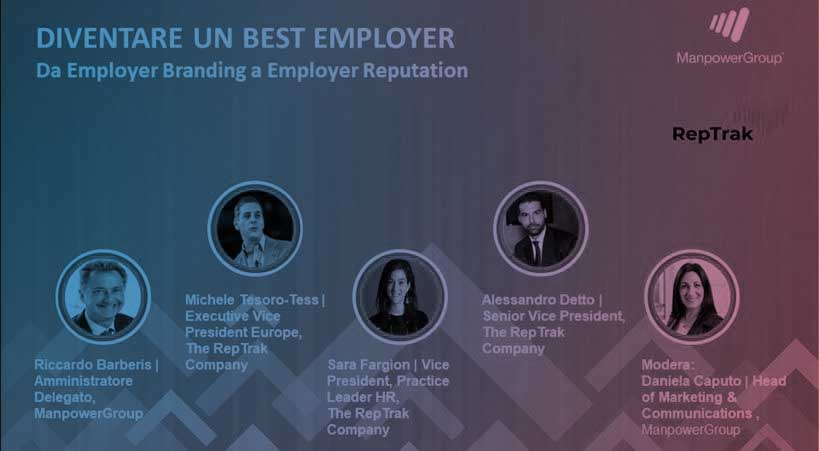 Diventare un Best Employer. Da Employer Branding a Employer Reputation