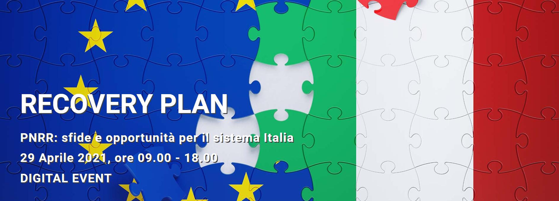 Recovery Plan. Pnrr: sfide e opportunità per il sistema Italia